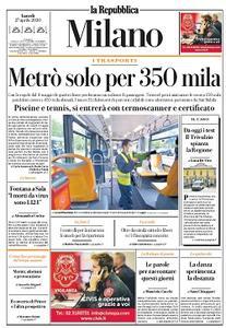 la Repubblica Milano - 27 Aprile 2020