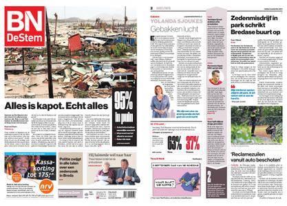 BN DeStem - Bergen op Zoom – 08 september 2017