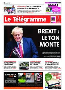 Le Télégramme Brest – 08 septembre 2020