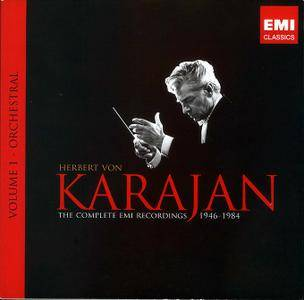 Herbert von Karajan - The Complete EMI Recordings 1946-1984, Vol.1: Orchestral (2008) (88 CDs Box Set) REPOST