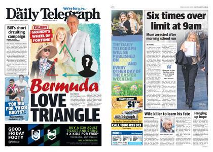 The Daily Telegraph (Sydney) – April 18, 2019