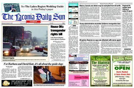 The Laconia Daily Sun – March 08, 2018