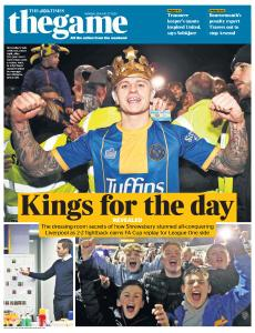 The Times - The Game - 27 January 2020