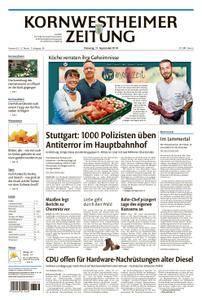 Kornwestheimer Zeitung - 11. September 2018