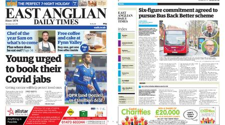 East Anglian Daily Times – June 16, 2021