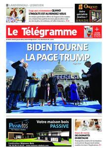 Le Télégramme Landerneau - Lesneven – 21 janvier 2021