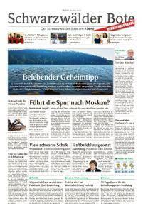 Schwarzwälder Bote Hechingen - 20. Juli 2018