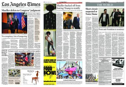 Los Angeles Times – April 19, 2019