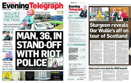Evening Telegraph First Edition – October 05, 2018