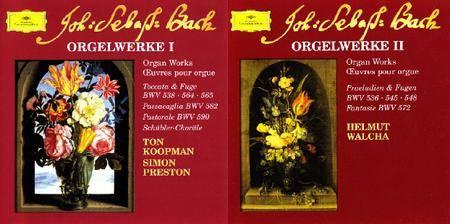 Ton Koopman, Simon Preston, Helmut Walcha - Bach: Orgelwerke (1999)