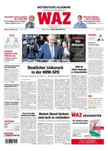 WAZ Westdeutsche Allgemeine Zeitung Oberhausen-Sterkrade - 19. November 2018