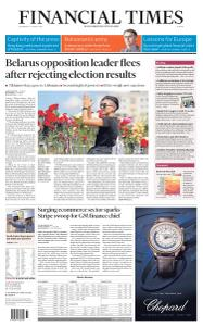 Financial Times Europe - August 12, 2020