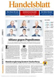 Handelsblatt - 02. April 2019