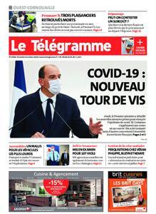 Le Télégramme Ouest Cornouaille – 16 octobre 2020