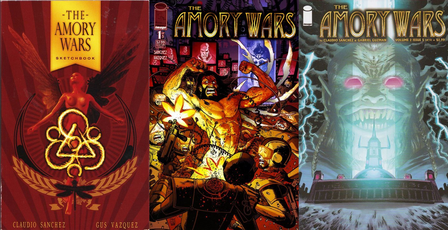 the amory wars complete collection