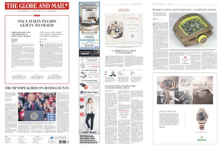 The Globe and Mail – December 19, 2019
