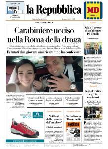 la Repubblica - 27 Luglio 2019