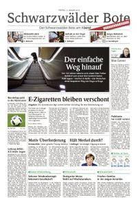 Schwarzwälder Bote Hechingen - 12. Januar 2018