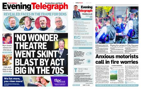 Evening Telegraph First Edition – May 13, 2019