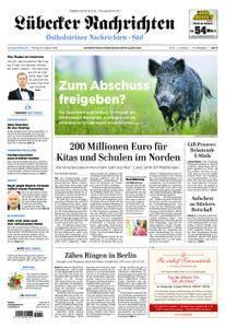 Lübecker Nachrichten Ostholstein Süd - 12. Januar 2018