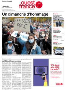 Ouest-France Édition France – 19 octobre 2020