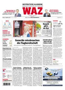 WAZ Westdeutsche Allgemeine Zeitung Oberhausen-Sterkrade - 15. September 2017