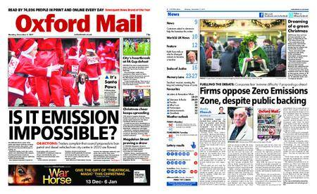 Oxford Mail – December 04, 2017