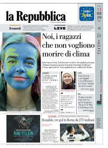 la Repubblica - 14 Marzo 2019