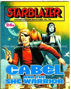 Starblazer 194 - Cabel and the She Warrior (1987) (PDFrip