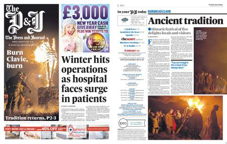 The Press and Journal Moray – January 13, 2020