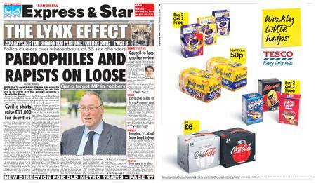 Express and Star Sandwell Edition – February 22, 2018