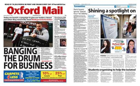 Oxford Mail – March 21, 2020