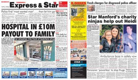 Express and Star Sandwell Edition – November 02, 2018