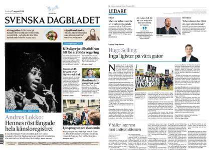 Svenska Dagbladet – 17 augusti 2018
