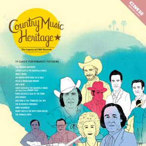 VA - Country Music Heritage: The Legacy of CMH Records (2017) [Official Digital Download]