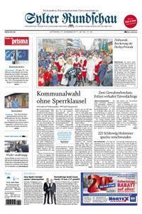 Sylter Rundschau - 27. Dezember 2017