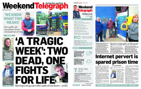 Evening Telegraph First Edition – April 27, 2019