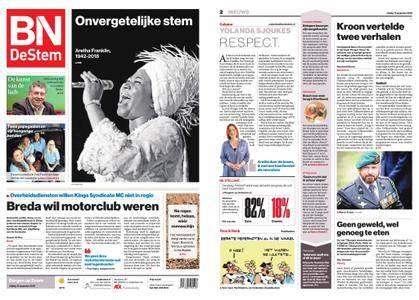 BN DeStem - Bergen op Zoom – 17 augustus 2018