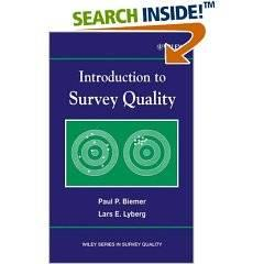 Interscience Introduction To Survey Quality - Wiley