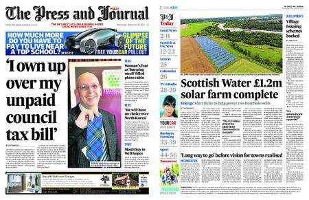 The Press and Journal Moray – September 20, 2017