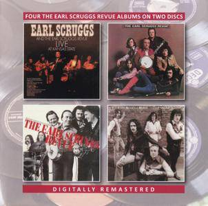 The Earl Scruggs Revue - Four Original Columbia Albums (2018) {2CD Set BGO Records BGOCD1295 rec 1972-1976}