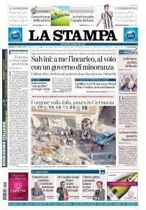 La Stampa Torino Provincia e Canavese - 8 Aprile 2018