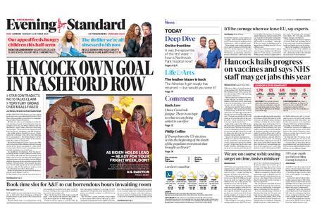 London Evening Standard – October 26, 2020