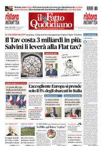 Il Fatto Quotidiano - 03 agosto 2019