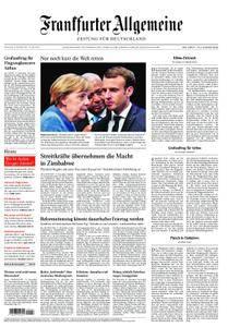 Frankfurter Allgemeine Zeitung F.A.Z. - 16. November 2017