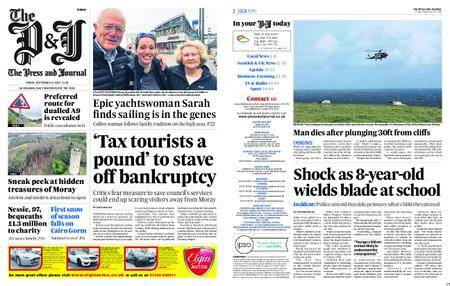 The Press and Journal Moray – September 21, 2018