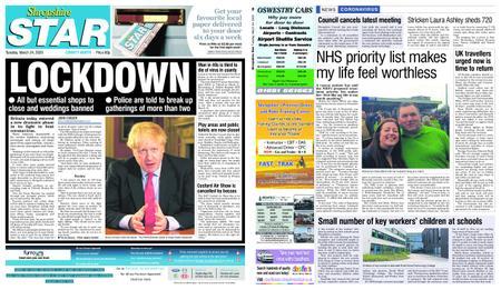 Shropshire Star North County Edition – March 24, 2020