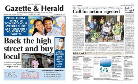 Gazette & Herald – July 23, 2020