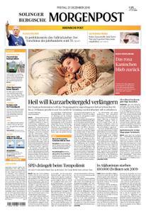 Solinger Morgenpost – 27. Dezember 2019