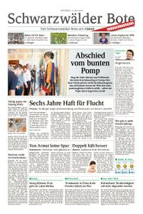 Schwarzwälder Bote St. Georgen, Triberg, Furtwangen - 10. Juli 2019